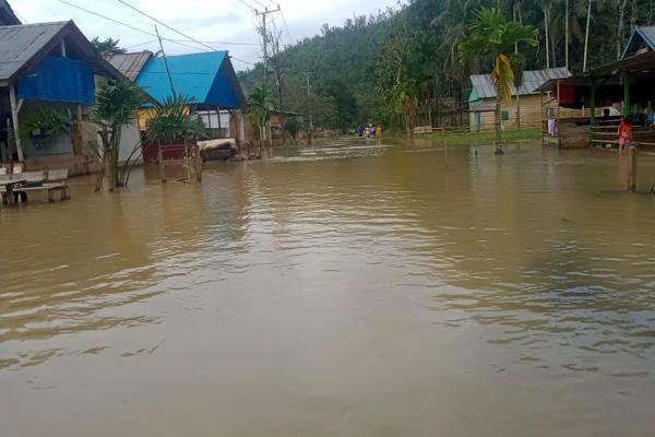 Banjir Rendam Lima Kecamatan di Konawe Utara