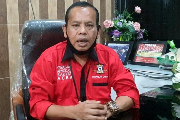 Ketua YARA Langsa Ultimatum Walikota Selesaikan Perseteruan PT Pekola dengan PT PKLE