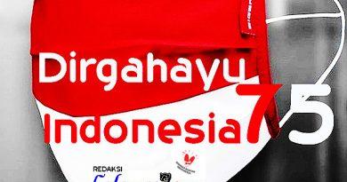 Dirgahayu Indonesia Tergerogoti Covid-19