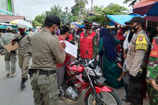 Razia Masker Makin Gencar di Aceh Tamiang