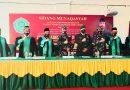 Disaksikan Dandim, Serma Zainul Raih Gelar Magister Pendidikan