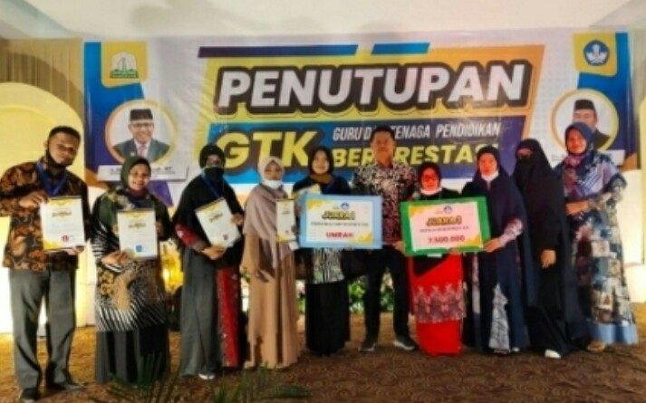 Aceh Tamiang Peringkat 3 Lomba Guru dan GTK Berprestasi se Aceh
