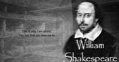 Puisi William Shakespeare: I am Afraid