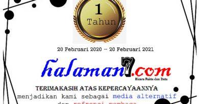 Wujud Syukur, halaman7.com Berbagi Cenderamata dengan PK5