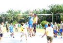 Turnamen Bola Voli Meriahkan HUT ke 3 Kodim Aceh Tamiang