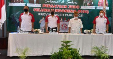 Kasdam IM Pimpin Judo Aceh, Aceh Dapat Dua Wild Card ke PON Papua
