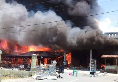 Rumah Wakil Bupati Agara Terbakar
