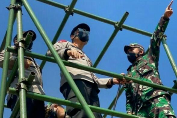 Kapolda Aceh Terjun ke Titik Api Karhutla di Wilayah Barat Aceh