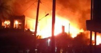15 Rumah dan Kios di Pulotiga Ludes Terbakar