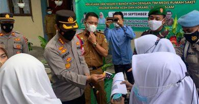 SMAN 8 Banda Aceh Gelar Vaksin Go to School