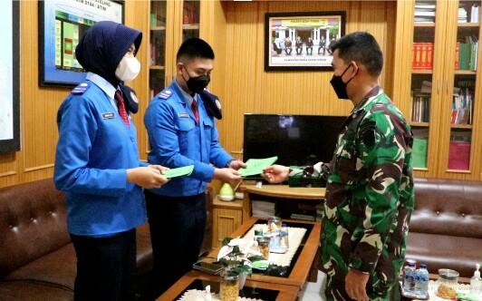 Siswa Taruna Nusantara Wawancarai Dandim Aceh Timur