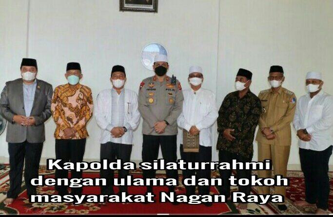 Kapolda Aceh Ziarah ke Makam Habib Abu Peulekung di Nagan Raya