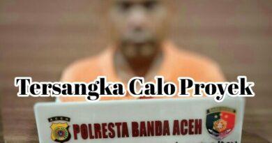 Calo Proyek Dirungkus Satreskrim Polresta Banda Aceh